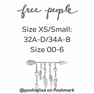 Free People Tops - Free People Cropped Tank XS/S